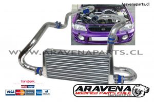Kit Intercooler Frontal GC8 subaru Impreza GC8 Aravena Parts RCCLIN gtstore kbstune FMIC aravena frontal intercooler