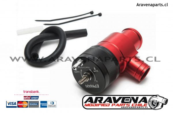 Blow off Epman WRX 2015 2016 2017 2018 ARAVENA parts chile Valvula competicion 1 accesorios