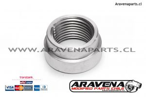 Bung Sensor Wideband acero inoxidable aravena parts chile accesorios competicion 2 aem innovate